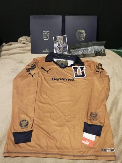 Jersey Pumas Nuevo 50 Años Primera División 1962 Colección