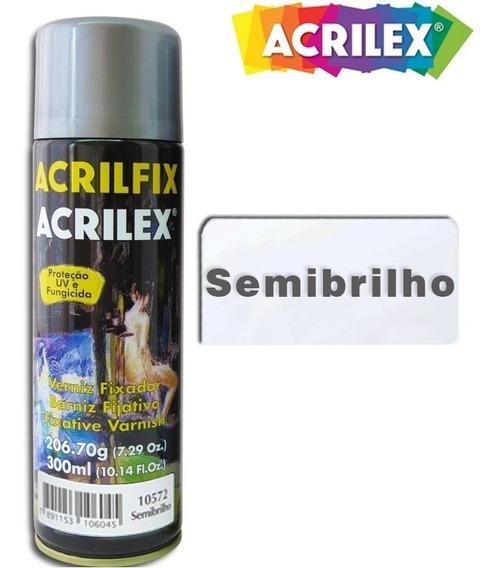 Verniz Spray Semibrilhante Acrilfix 300ml 10572 - Acrilex
