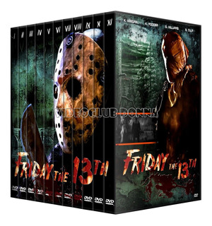 Viernes 13 Martes 13 Friday The 13th Saga Dvd Colección Pack