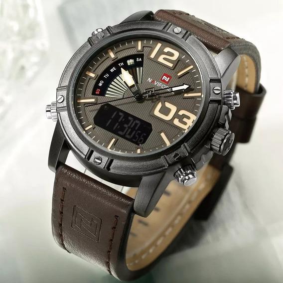 Relógio Masculino Naviforce Esportivo Militar