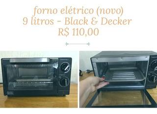 Forno Elétrico 9l 110v, Black&decker, Padrão