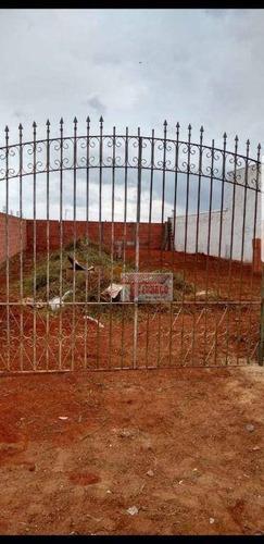 Terreno À Venda, 250 M² Por R$ 150.000,00 - Jardim Santa Rita De Cássia - Tatuí/sp - Te0264