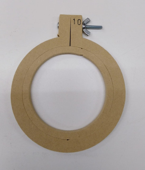 Bastidor Para Bordar 10 Cm Diámetro, Fibrofacil