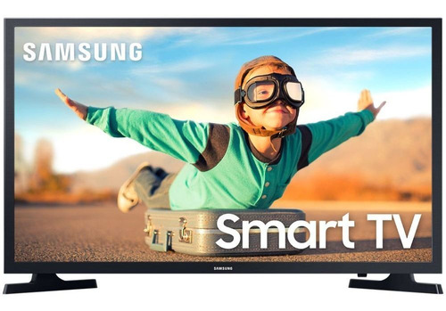 Smart Tv Led 32'' Samsung Un32t4300agxzd Wifi 2 Hdmi 1 Usb