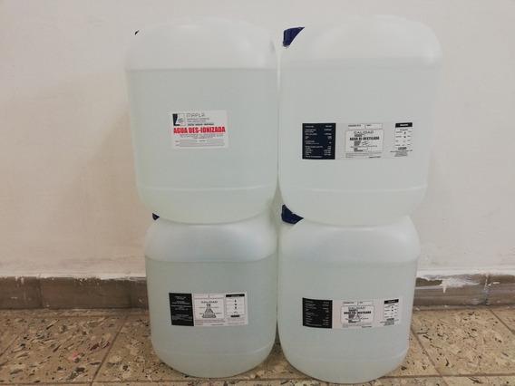Agua Tri Destilada 20 Lts.
