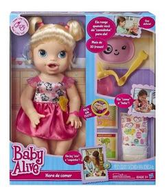Boneca Baby Alive Hora De Comer - Hasbro A7022