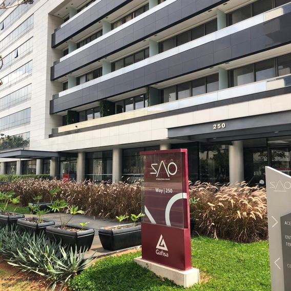 Sala Comercial A Venda 43m 1vg Wc Privativo Sacada Estacionamento Localizado No Espaço Cerâmica São Caetano Do Sul - Sp - Sa00002 - 34629028