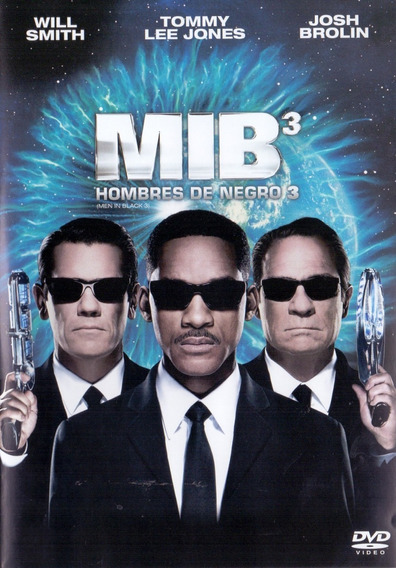 Mib 3 Hombres De Negro 3 Tres Men In Black Pelicula Dvd