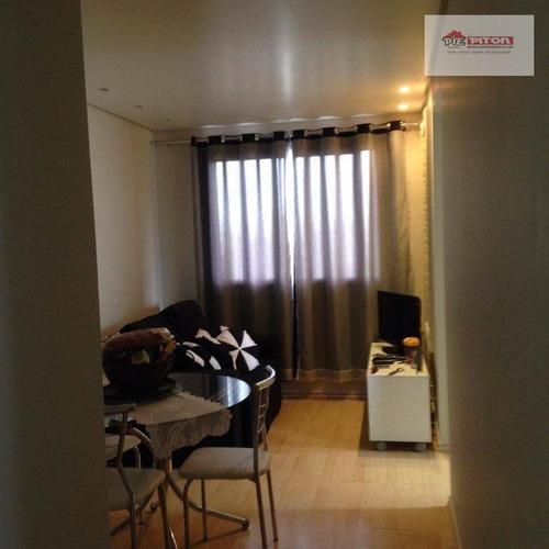 Apartamento Com 2 Dormitórios À Venda, 43 M² Por R$ 288.000,00 - Vila Matilde - São Paulo/sp - Ap1017