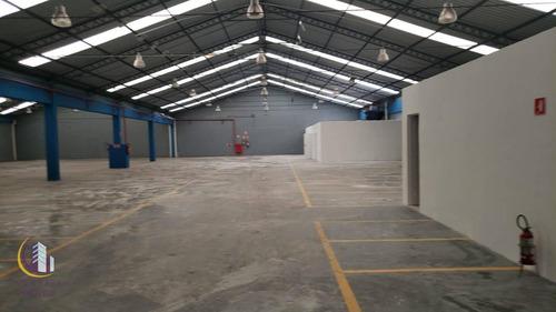 Galpão Para Alugar, 1543 M² Por R$ 42.000,00/mês - Vila Leopoldina - São Paulo/sp - Ga0052
