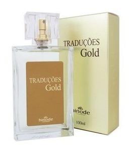 Perfume Masculino Traduções Gold Hinode
