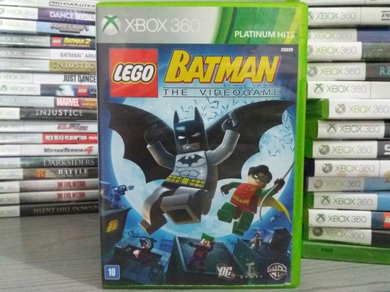 Jogo Lego Batman The Videogame Xbox 360 Mídia Para Crianças