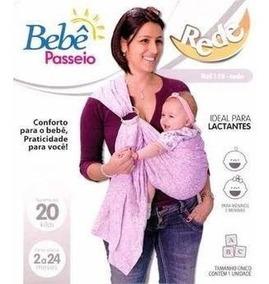 Sling Argola Rede Carregador De Bebê Canguru Amamentação
