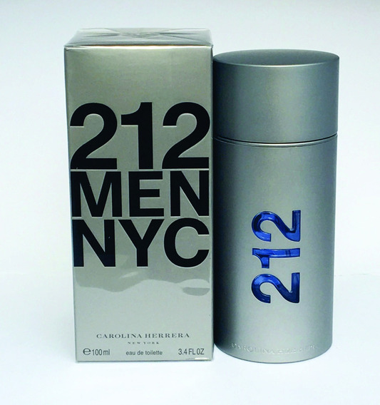Perfume 212 Men Ny 100ml Original Importado Com Selo