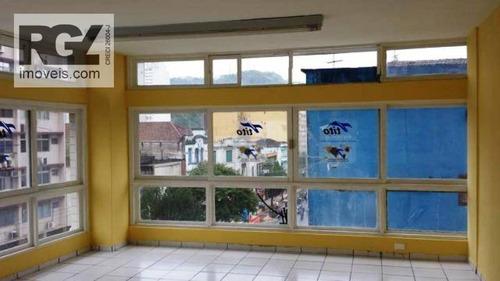 Andar Corporativo Para Alugar, 180 M² Por R$ 3.500,00/mês - Centro - Santos/sp - Ac0002