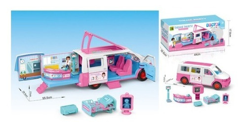 Carro Ambulancia De Niña 930-2 Theme Party 7313