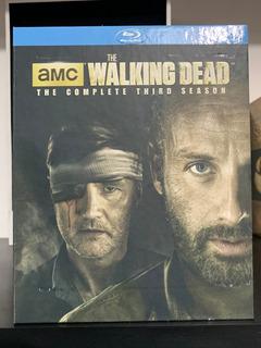 Blu-ray - The Walking Dead - Temporada 3 - Digipack