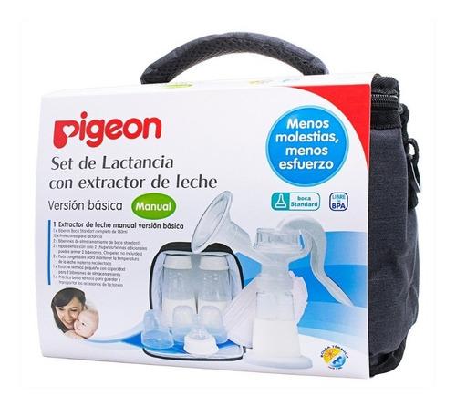 Set De Lactancia Con Extractor De Leche Pigeon