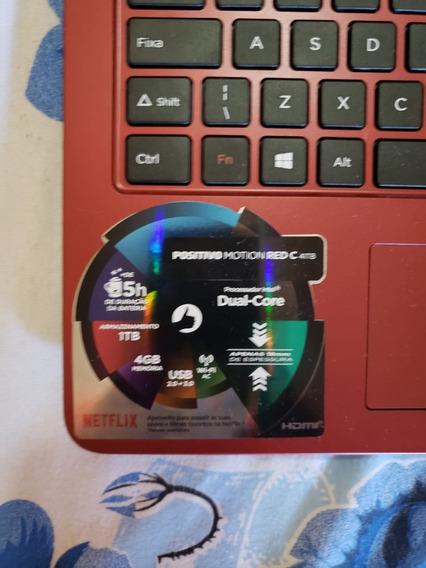 Positivo Motion Red C Intel Dual Core 4gb 1 Tb Hd, Caixa, Nf