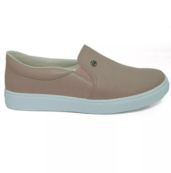 Tenis Slip On Via Marte Nude 19-11403