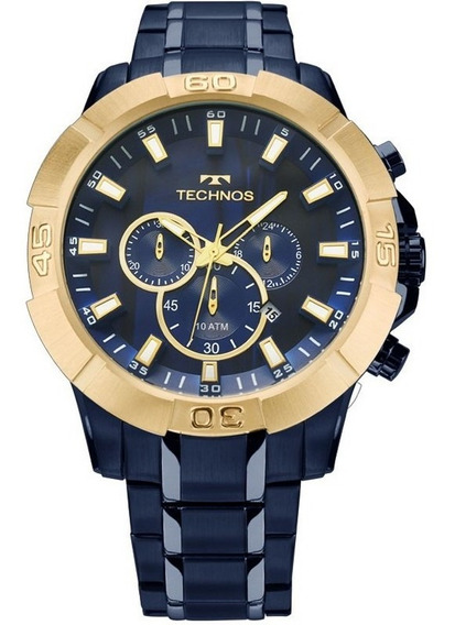 Relógio Technos Masculino Performance Legacy Js26af/4a Azul
