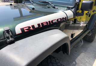 Calcamonia Sticker Rubicon Jeep Wrangler Edicion Especial