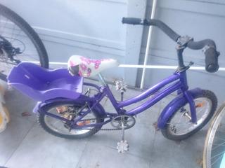 Bici Bicicleta Rodado 16 Haedo Usada