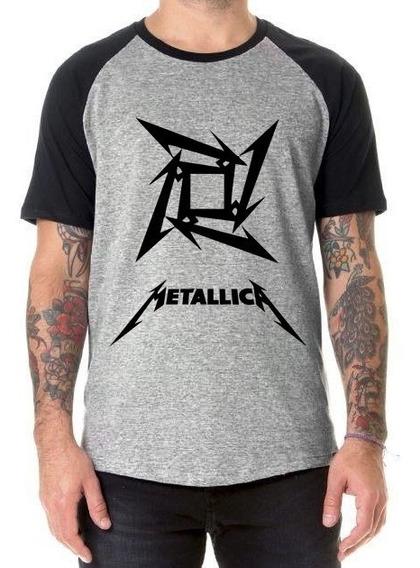 Remera Metallica Rock Logo Metal
