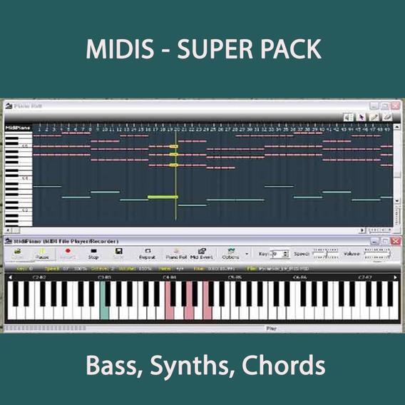Midi - Bass, Synths, Chords (tech House, House, Nu Disco)