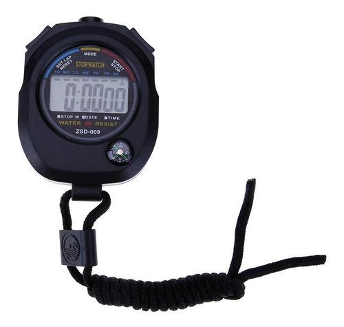 Cronómetro Digital Resistente Al Agua Deportes Cocina Correa