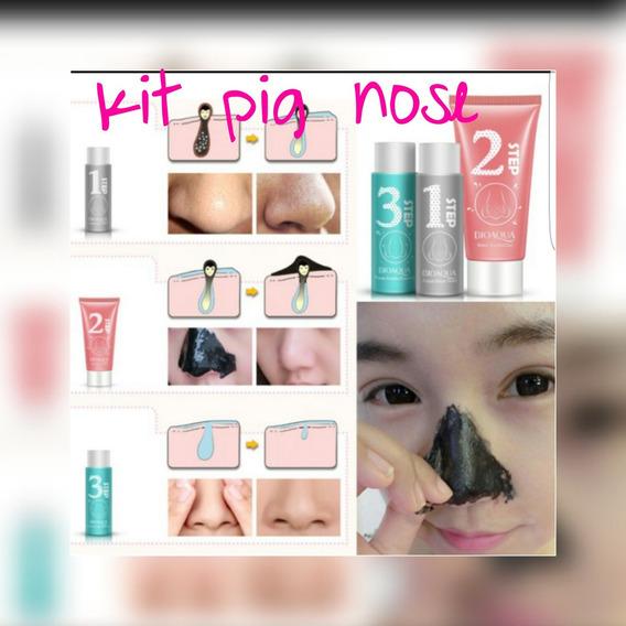 Holika Holika Pig Nose Puntos Negros 3 Pasos Original