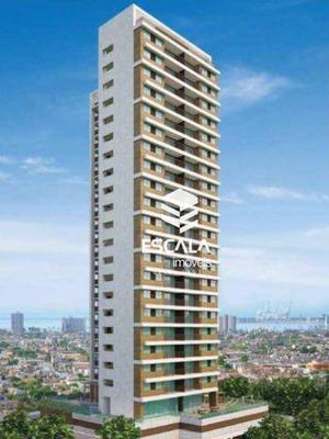 Apartamento Com 1 Quarto À Venda, 54 M², Área De Lazer, 1 E 2 Vagas - Meireles - Fortaleza/ce - Ap1489
