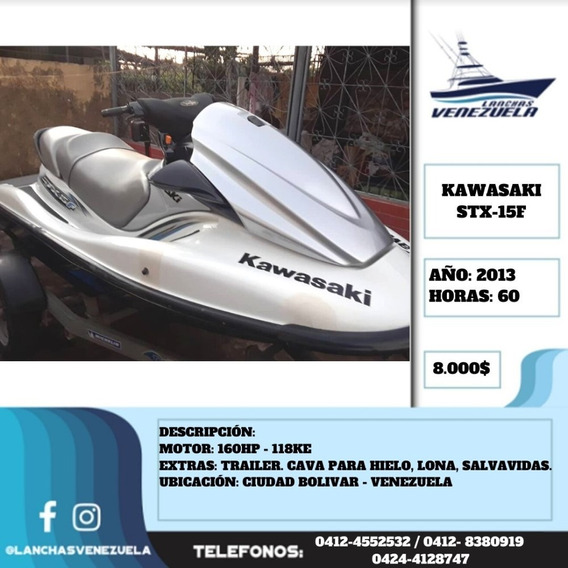 Moto De Agua Kawasaki Stx-15f Lv606