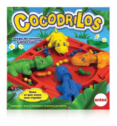 Imagen 1 de 7 de Cocodrilos Juego De Mesa Cocodrilos Antex Playking