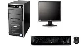 Computador Completo + Monitor 17 Ótimo Desempenho + Windows7