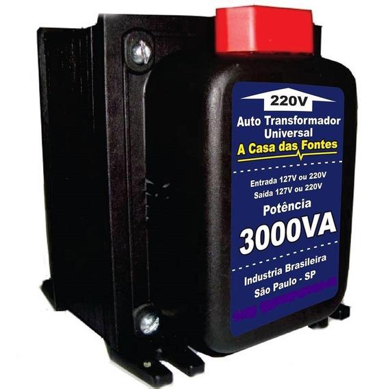 Auto Transformador 3000va 110 220 Ou 220 110 Frete Barato
