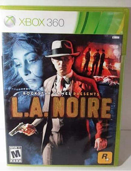 Jogo Midia Fisica La Noire Da Rockstar Para Xbox 360 Frete G