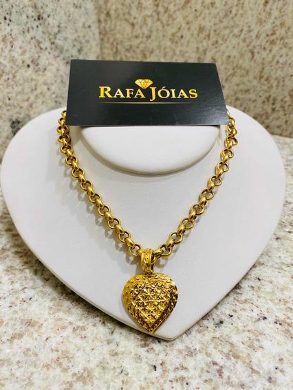 Corrente De Ouro 18k 750 45 Cm Elos Portuguesa