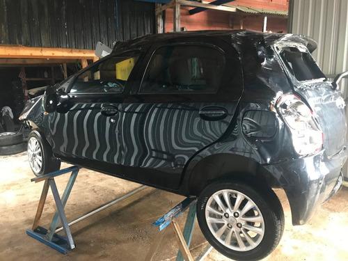 Sucata Toyota Etios 2013 1.5 Flex- Rs Auto Peças Farroupilha