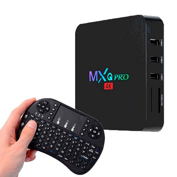 Convertidor Smart Tv Con Android Mini Teclado Inalambrico