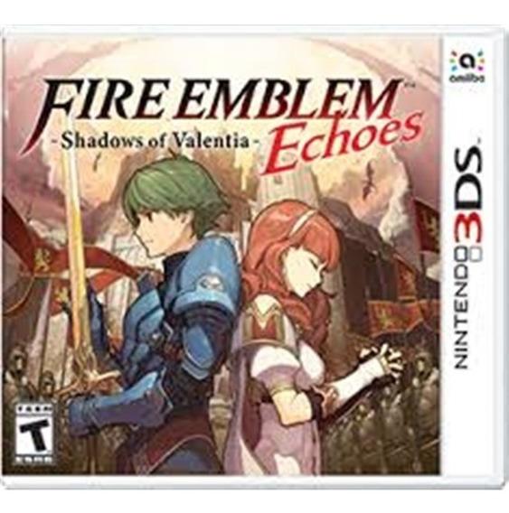 Fire Emblem Echoes: Shadows Of Valentia 3ds Mídia Física