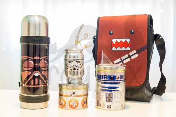 Set Matero Star Wars Con Bolso - Equipo De Mate Completo
