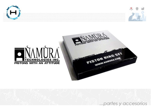Imagen 1 de 5 de Anillos: Yamaha Yfb 250 Cc Timberwolf 2wd-4wd +1.50 Mm