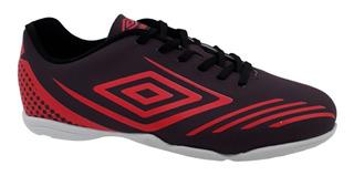 Chuteira Futsal Umbro Guardian Roxo Vermelho 748712