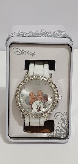 Reloj De Pulsera Minnie Mouse Disney Original 90515