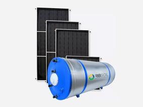Kit Solar Boiler 400l E 2 Placas 200x100 Inox Tenda Do Sol