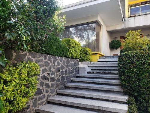 Casa Y Terreno En Venta, Lomas De Chapultepec
