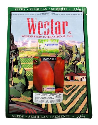 Tomate Rio Grande Semillas Bolsa 1 Libra Con Guia De Cultivo