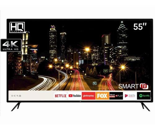 Smart Tv Hq Led 55  Hqstv55ny Ultra Hd 4k Netflix Youtube