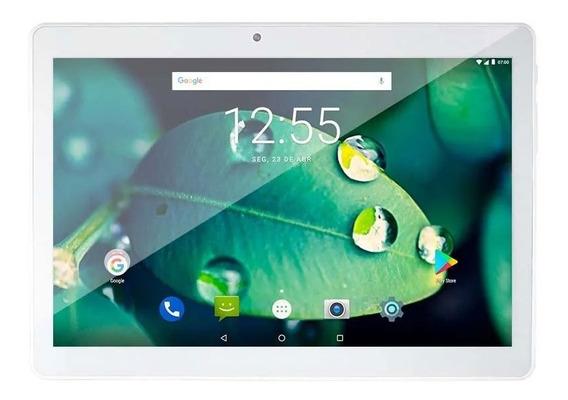 Tablet Multilaser M10 4g Tela 10 Dual Câmera 2gb De Ram 16gb